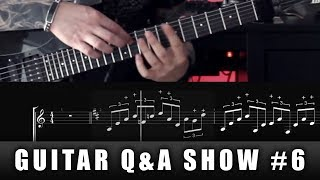 GruvGear Fretwrap and tapping - how does it work? | GUITAR Q&A SHOW #6
