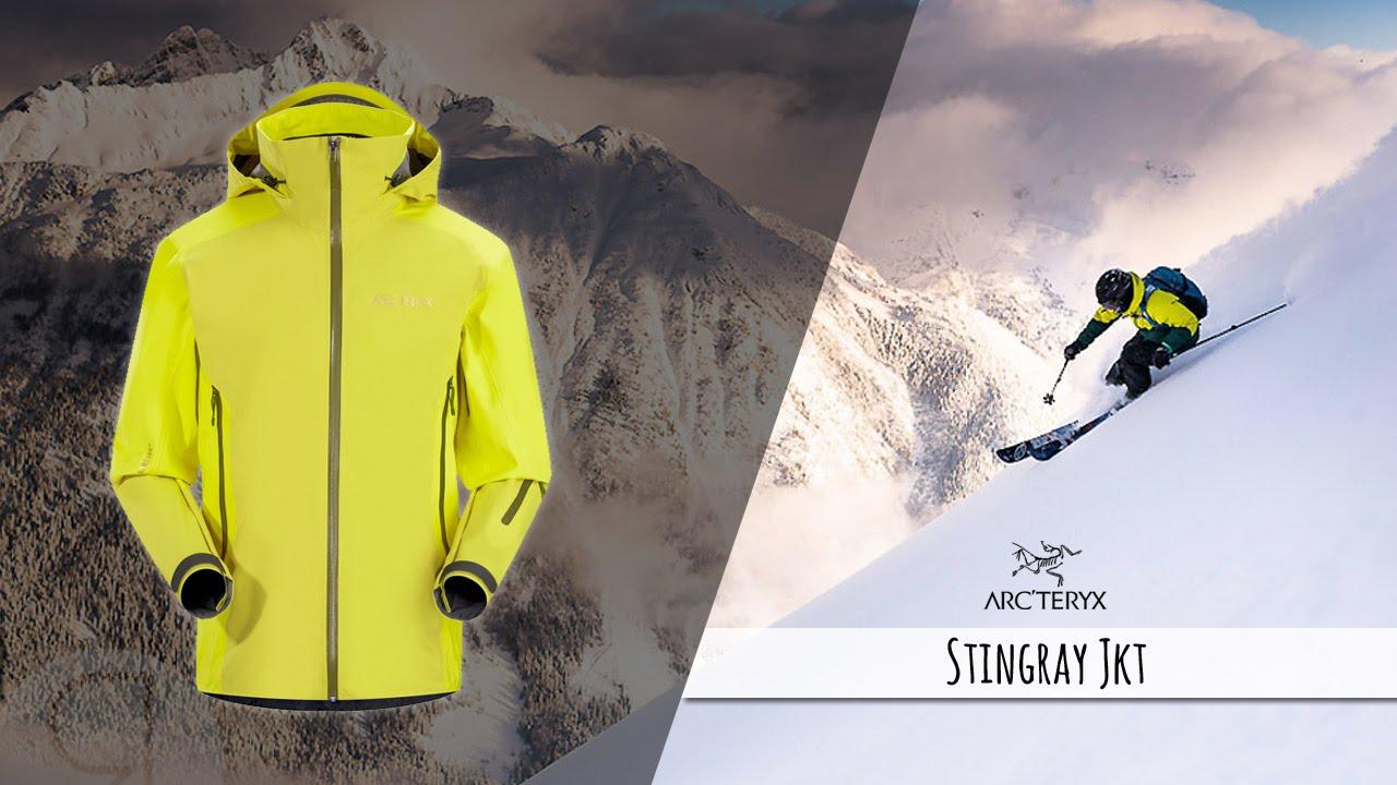 ecbd8ab2bd9 Arc'Teryx : Stingray Jkt - veste de ski, par Snowleader - YouTube