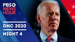 WATCH LIVE: 2020 Democratic National Convention | Night 4 Special Coverage & Analysis | PBS NewsHour