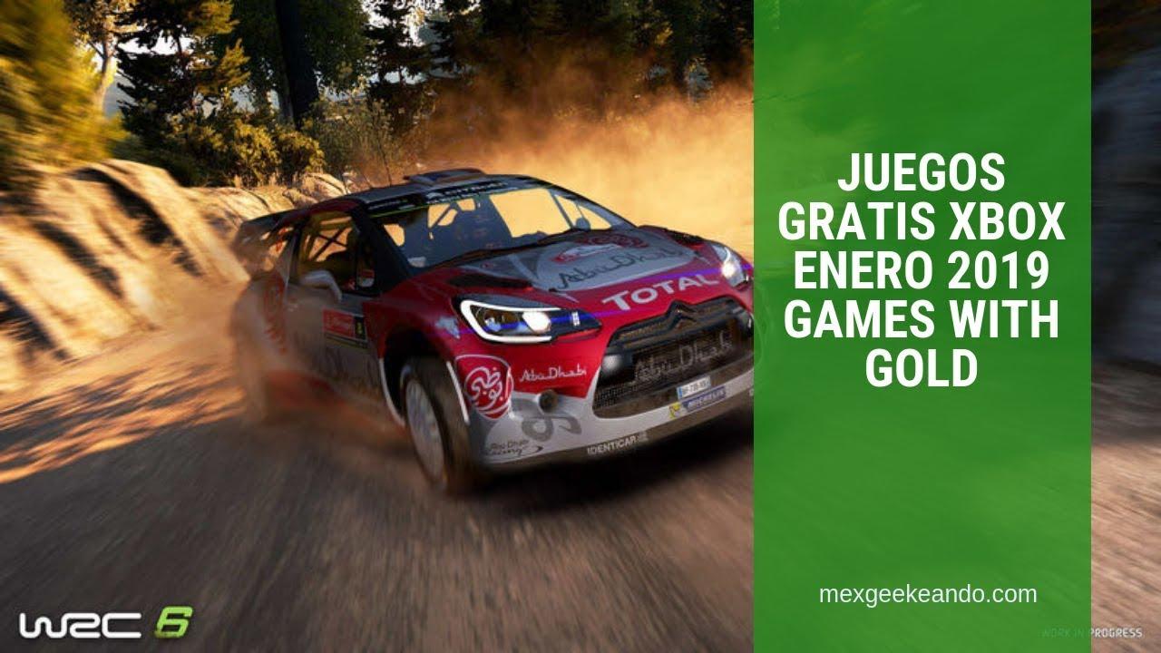 Juegos Gratis Xbox Enero 2019 Games With Gold