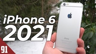 Using the iPhone 6 in 2021 - Review