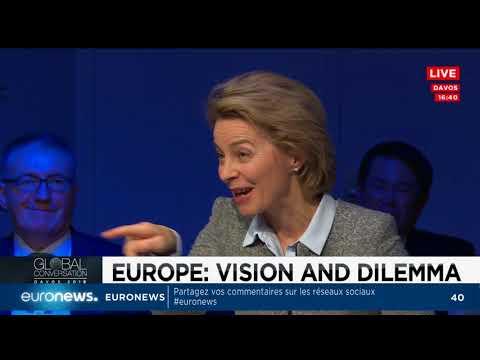 Davos 2018 : le grand débat sur l'avenir de l'Europe