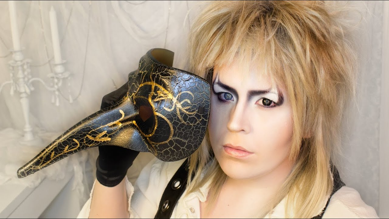 sc 1 st  YouTube & Halloween Makeup Tutorial: Jareth the Goblin King - YouTube