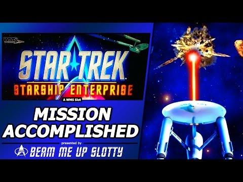 Star Trek Slot - Crystal Capture Bonus, Mission Accomplished in New Starship Enterprise game