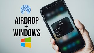 AIRDROP FOR WINDOWS PĊ (HOW TO TRANSFER FILES FROM PC TO IPHONE WIRELESSLY)