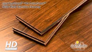 Cali Bamboo Fossilized™ Java Wide Plank Bamboo Flooring