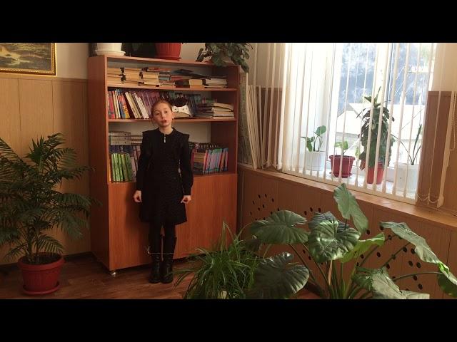 Изображение предпросмотра прочтения – МаликаГежаева читает произведение «О как безумно за окном» А.А.Блока