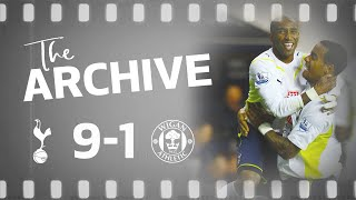THE ARCHIVE | SPURS 9-1 WIGAN | Defoe scores FIVE in Spurs biggest ever top flight win!