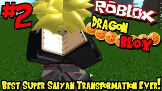 BEST SUPER SAIYAN TRANSFORMATION EVER! | Roblox: Dragon BLOX (Demo) - Episode 2