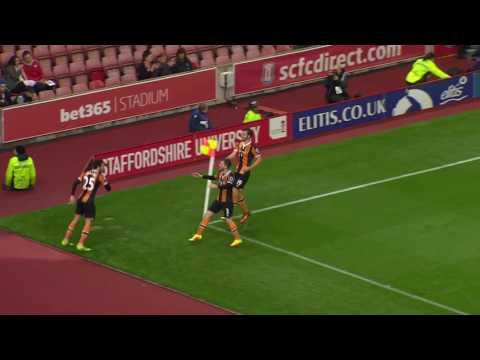 Stoke City 1 Hull City 2 (EFL Cup 2016/17)