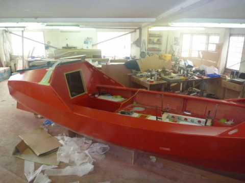 Tasman Ocean Rowing Boat Construction - YouTube