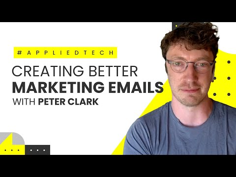 Creating Better Marketing Emails with Peter Clark from Journey