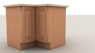 Уроки 3ds Max для начинающих. Текстурирование кухонной мебели в 3ds Max