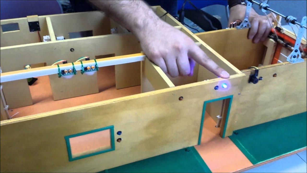 Casa domotica con arduino youtube