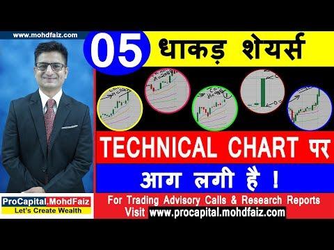 05 धाकड़ शेयर्स  TECHNICAL CHART पर आग लगी है   Latest Share Market Tips