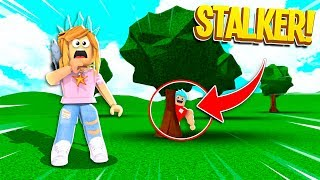 I Caught A Stalker Following Me Everywhere I Went.. (Roblox)