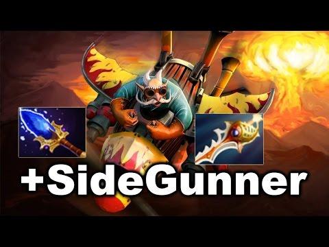 SIDEGUNNER GYRO - Epic Comeback - VP vs Spirit Major Dota 2