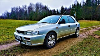subaru Impreza front brake pads replacement/ замена передних тормозных колодок