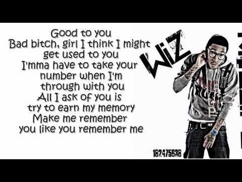 Wiz Khalifa  - Remember You ft. The Weeknd  (Lyrics On Screen) [O.N.I.F.C.]