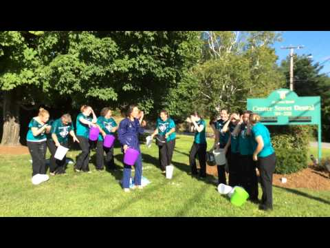 Center Street Dental Does the Ice Bucket Challenge!