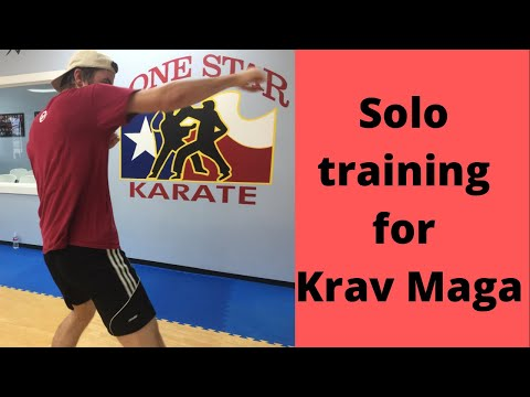 Solo training for Krav Maga