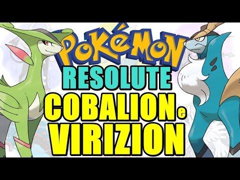 Pokémon Resolute (Detonado - Parte 66) - Lendários: Cobalion e Virizion