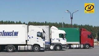 В пункте пропуска «Каменный Лог» растёт очередь грузовых автомобилей
