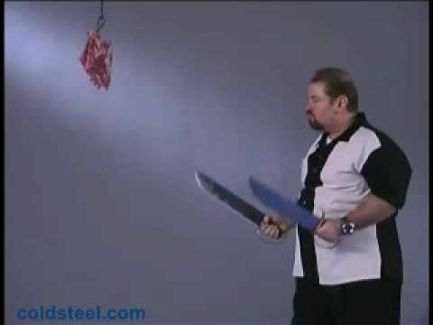 Cold Steel Butterfly Swords - YouTube