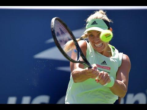 Angelique Kerber Vs Kristina Mladenovic Extended Highlights   US Open 2019 R1