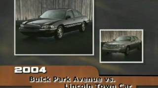 Buick Park Ave (2004) Competitive Comparisons