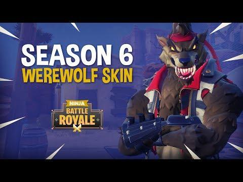 The Season 6 Werewolf Skin!! - Fortnite Battle Royale Gameplay - Ninja