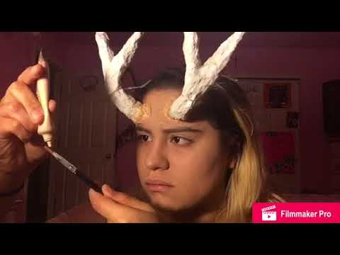 Reindeer SFX Makeup (Christmas Look)
