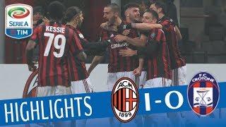 (4.95 MB) Milan - Crotone 1-0 - Highlights - Giornata 20 - Serie A TIM 2017/18 Mp3