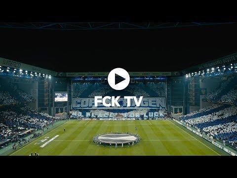 COPENHAGEN - NO PLACE FOR LUCK: FC Copenhagen tifo choreography against Celtic FC.