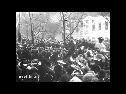 Onafhankelijkheidsfeesten te Rotterdam op Maandag 17 November 1913
