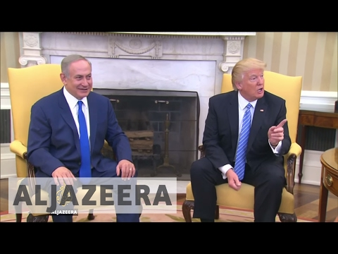 Palestinians react to Trump's statement on two-state solution