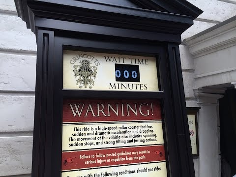 A Special Day at Diagon Alley in Universal Studios Orlando WWoHP & Gringotts