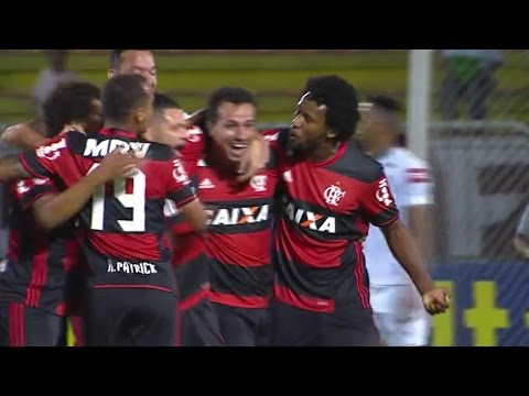 Flamengo 2 x 1 Fluminense Melhores Momentos Brasileirão 2016