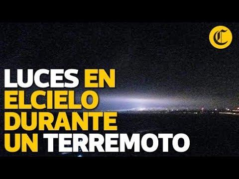 Luminiscencia Durante El Terremoto En Perú