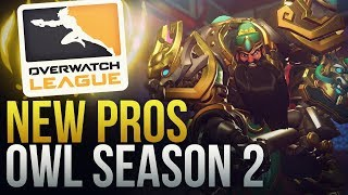 NEW PROS JOINING SEASON 2 OVERWATCH LEAGUE - Overwatch Montage