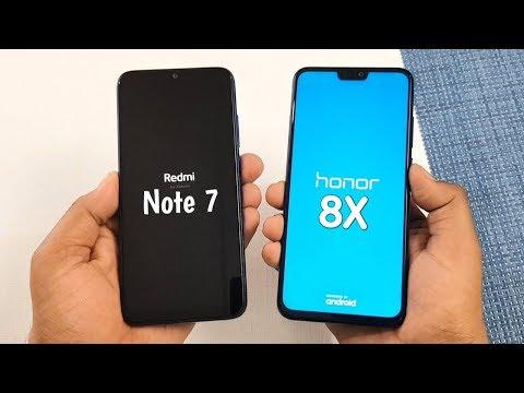 Redmi Note 7 против Honor 8X: тест на скорость
