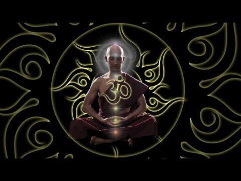 OM Chanting 432Hz Music: 10'000Hz Whole Body Healing | Slow Trance Drums Soft Rain Meditation Music