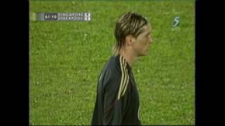 Liverpool vs Singapore 5-0 2009 Match Goals & Extras (Singapore[CH5]/English) 720P HD