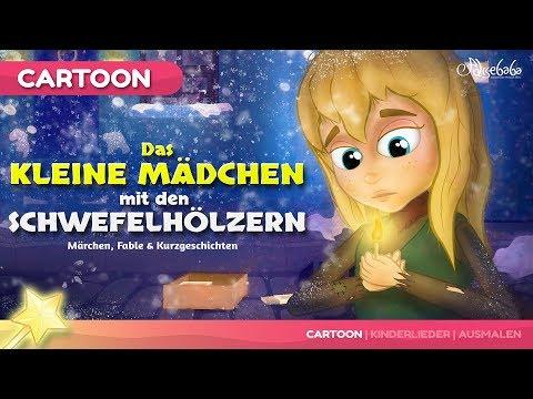 Das kleine Mädchen mit den Schwefelhölzern Gute Nacht Geschichte | Märchen für Kinder auf Deutsch