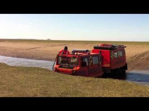 Bay Search & Rescue Hagglunds BV206 driver training 2012
