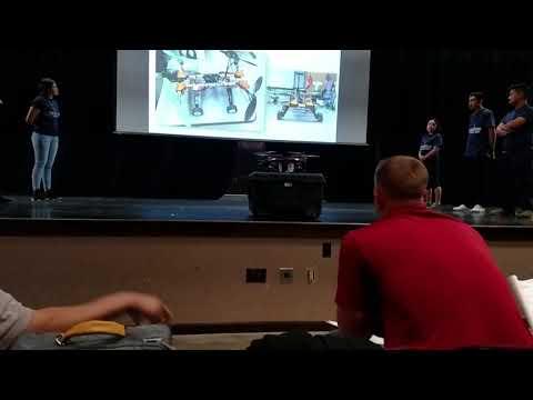 Quadcopter presentation Palomar High School