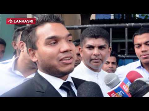 Ex president Rajapaksa's son Namal Rajapaksa is certain to be arrested