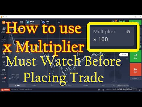 Iq Option How To Use MULTIPLIER Watch It Before Placing Any Trade