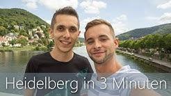 Heidelberg in 3 Minuten   Reiseführer   Die besten Sehenswürdigkeiten