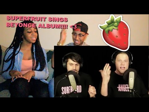 Couple Reacts : Beyonce Medley By Superfruit Reaction!!!
